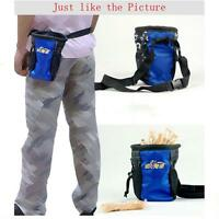 New Pet Dog Puppy Treat Snack Bag Pouch Holder with Buckle Belt for Training Z