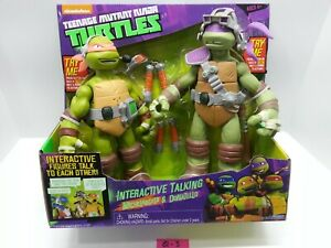 Tortues Ninja chez les adolescentes - Conversation interactive Mikey & Donatello Nickelodeon