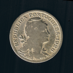 Portugal - 50 Centavos - 1928