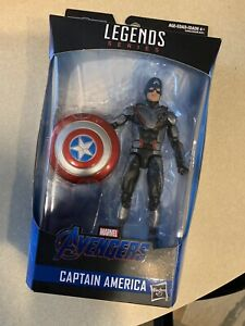 "Marvel Legends Avengers CAPTAIN AMERICA 6/"" Action Figure Thanos BAF 2019 Wave 1"