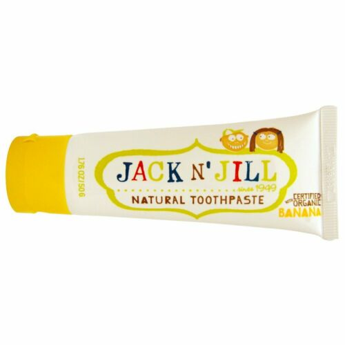 JACK N/' JILL NATURAL TOOTHPASTE BANANA pack of 5