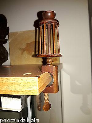 Raro E Antico Arcolaio Filatoio In Legno In Miniatura Per Filare Con Morsa Met Traditionele Methoden