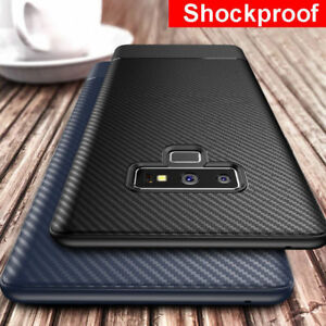 Slim-Fit-Carbon-Fiber-Silicone-Cover-Case-For-Samsung-Note9-8-S8-S9-Plus-Case