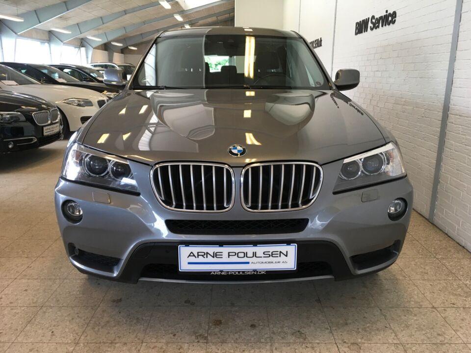 BMW X3 3,0 xDrive30d aut. Van Diesel aut. Automatgear