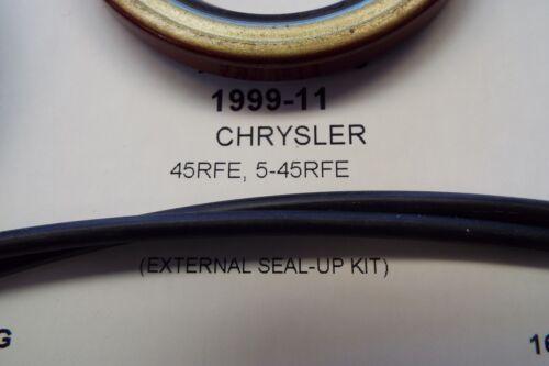 Dodge 45rfe 5-45rfe Pump Seal Transmission External Seal Up reseal kit