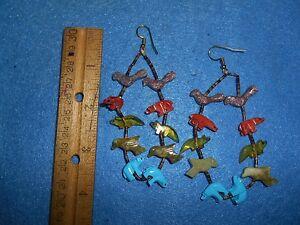 Fetish-Single-Strand-Earrings-main-stone-is-Turquoise