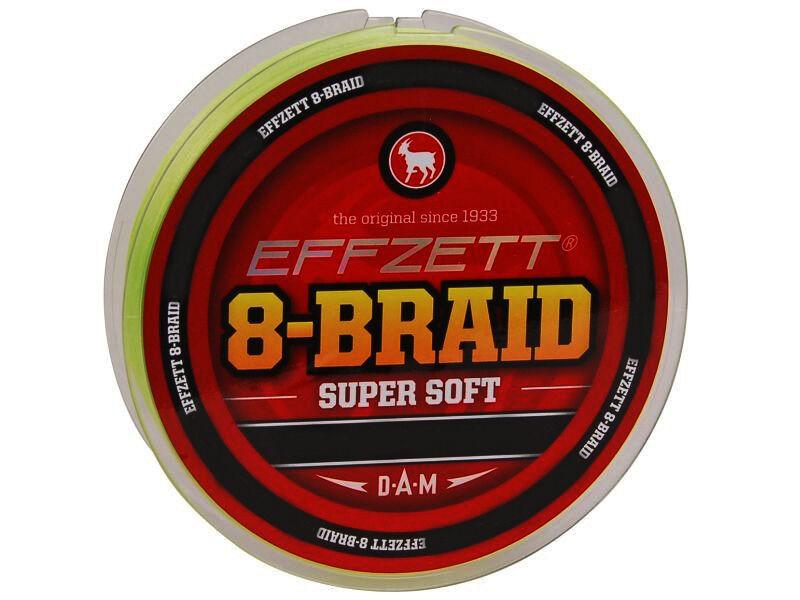 DAM EFFZETT SUPER SOFT 8 BRAID 250m 60lb