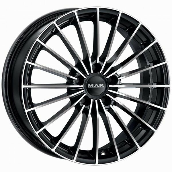 ALLOY WHEEL MAK ARESE 8,0x18 5x110 BLACK MIRROR 070