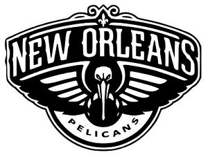 Details About New Orleans Pelicans Nba Team Logo Decal Stickers Basketball