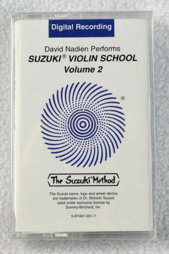 NEW UNOPENED Suzuki Violin School Cassette Tape Volume 2 0351 Summy//Alfred