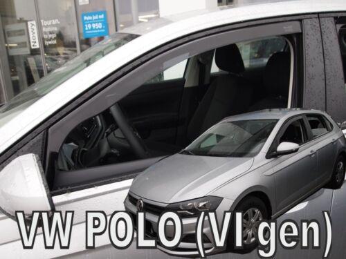 HEKO 31013 saute vent 2 pièces VW Polo VI Génération 5 türig année de construction à Partir De 2017