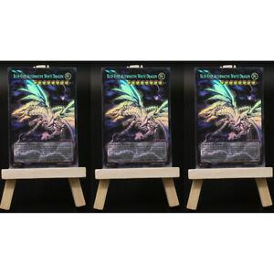 Yugioh-Orica-3x-Playset-Blue-Eyes-Alternative-White-Dragon-FULL-ART-HOLO-Oric
