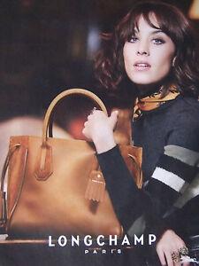 De Longchamp Presse Publicite Sac Advertising Paris UwdBY4q