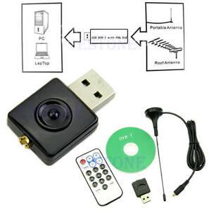 USB-DVB-T-RTL-SDR-Realtek-RTL2832U-R820T-Tuner-Receiver-Dongle-MCX-Input-New