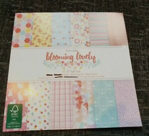Dovecraft /'Blooming Lovely/' A6 Embossing Folder *Free UK P+P*