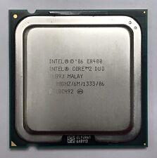 6MB Cache 1333FSB  SKT 775 SLAPL Core 2 Duo E8400 3GHz