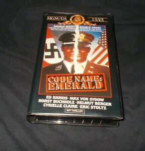Code-Name-Emerald-VHS-Pal-Mmm-Home-Video-Ed-Harris