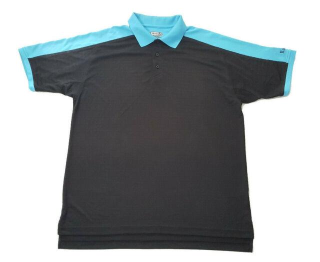 AHD By Ahead Coolmax FX Men's Golf Polo shirt size Large blue ...