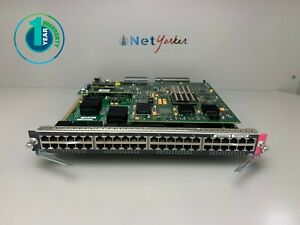 Cisco-WS-X6848-GE-TX-48-Port-Gigabit-Ethernet-Module-1-YEAR-WARRANTY