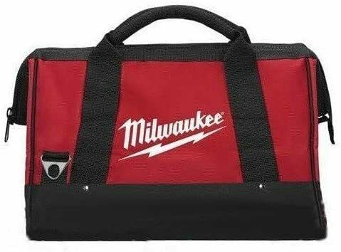 NEW Milwaukee Large Contractors Heavy Duty Canvas Tool Bag 17 x 10 x 10 in