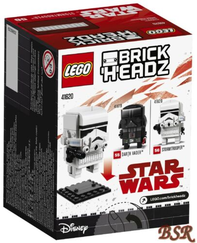 LEGO® Brick Headz 41620 Stormtrooper™ /& 0.-€ Versand /& NEU /& OVP !