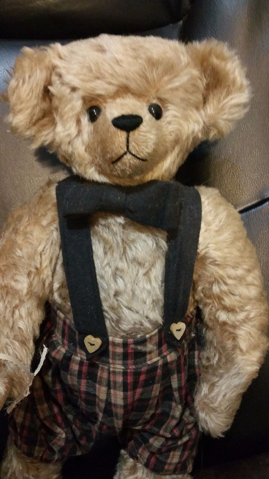 17  Mohair bear by Joyce Lapp Francis from Cullen Carlton and Company