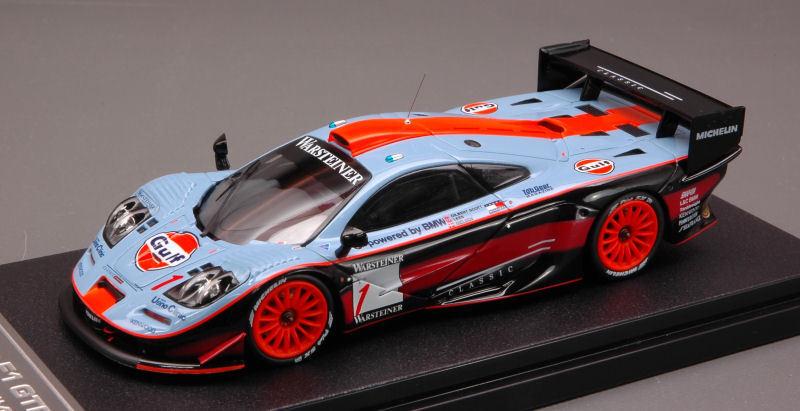 McLaren f1 GTR  1 disparaitra 1997 1 43 Model  8211 HPI RACING  les clients d'abord la réputation d'abord