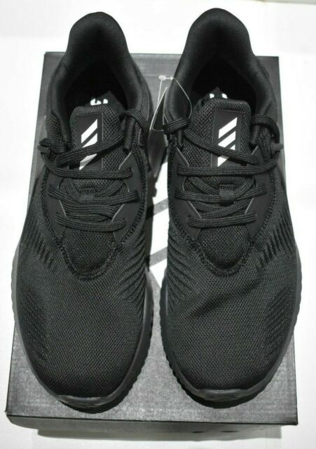 adidas Alphabounce RC 2 Mens Bd7091 Black White Mesh Running Shoes Size 8.5