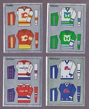 1988-89 Panini NHL Hockey Sticker Quebec Nordiques #346 Foil Jersey