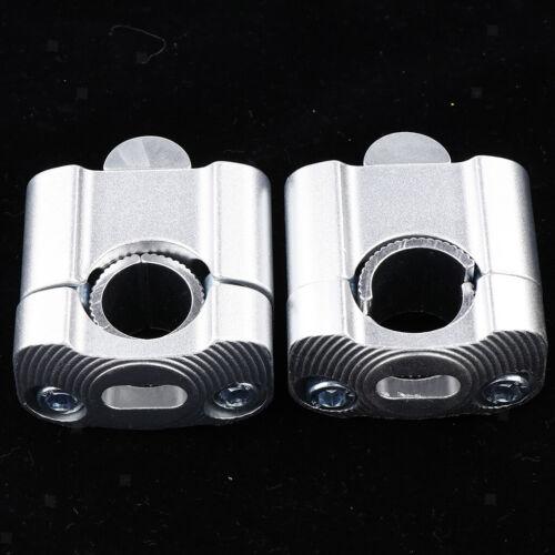 1 Paar Universal Motorrad Lenker Riser Lenkererhöhung für Lenker 22 mm//28 mm