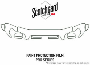 3M Pro Shield Paint Protection Kit for Toyota Tundra 2003-2006 - Hood Clear