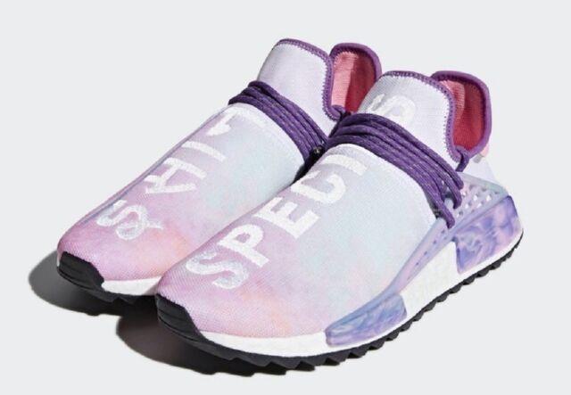 timeless design a6374 aaa98 adidas Human Race HU Holi NMD Pink Glow Ac7362 Size 7 US Pharrell Williams