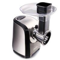Electric 150w Slicer Meat Cutter Slice Machine 5 Blades Interchangeable Rlwh