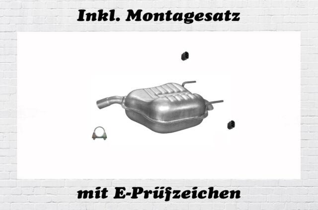 Fiat Croma 1.9 2.4 Multijet Kombi  Endschalldämpfer Auspuff Endtopf  Montagesatz