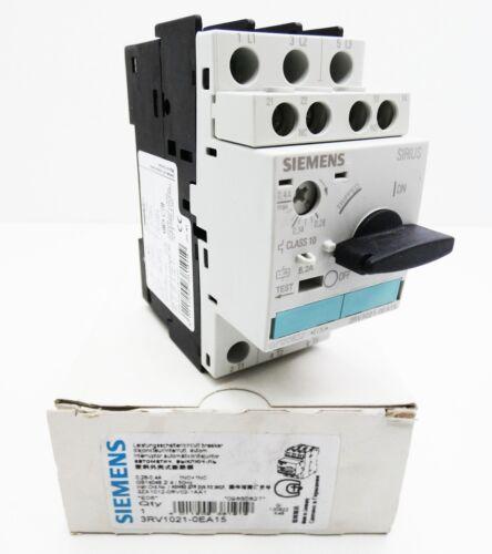 Siemens Sirius 3RV1021-0EA15  3RV1 021-0EA15 E:06 Leistungsschalter unused//OVP