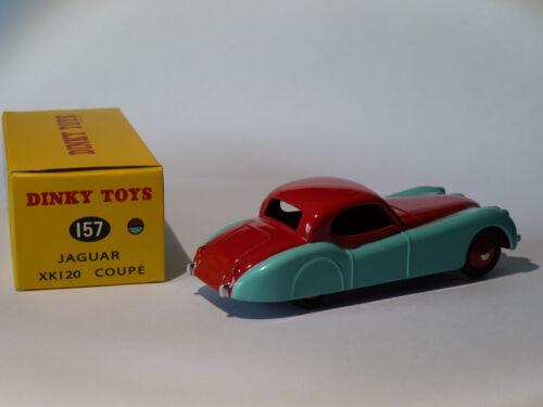 XK 120 coupé  réf DeAgostini 157  au 1//43 de dinky toys atlas Jaguar XK120