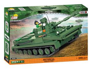 Cobi 2235 - PT-76 Amphibious Light Tank (737pcs)  Building Blocks - Vietnam War