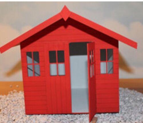 "Casa De Muñecas Bournemouth Beach Hut chalet Kit 1//4/"" escala 1//48th"