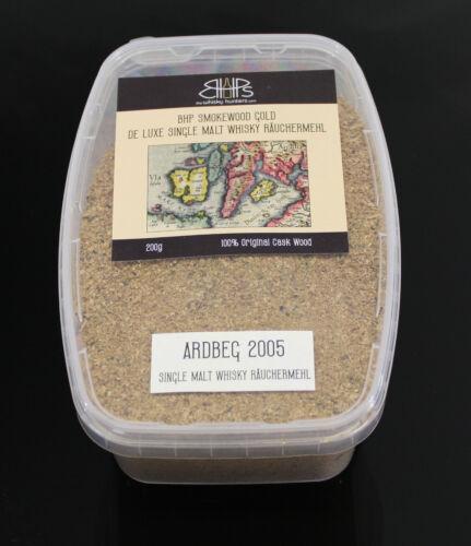 BHP Smokewood Gold räuchermehl-ARDBEG 2005 WHISKY räuchermehl 200 g