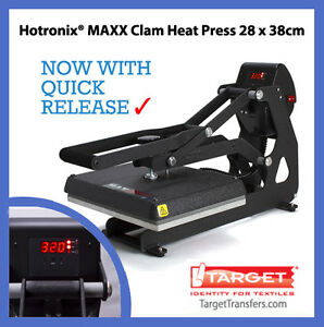 Stahls-Hotronix-Maxx-Clam-Heat-Transfer-Press-Multiple-Platen-Sizes-Available