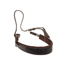 Polo Breastplate Breast Collar 100/% Buffalo Leather Brown Padded CLEARANCE