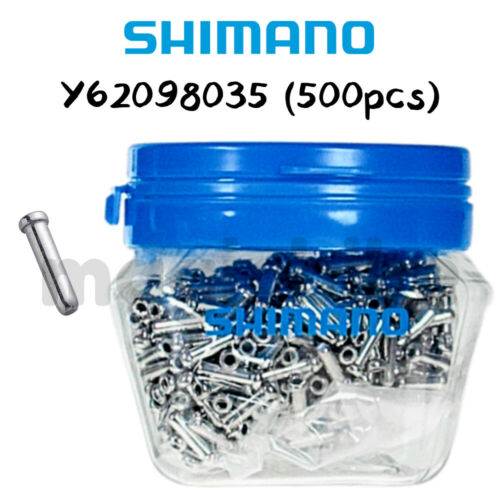 SHIMANO Inner End Cap φ1.1//1.2 mm for shifter cables 500 NIB