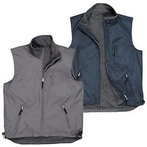 Chaleco-Chaqueta-Chaleco-Chaleco-Portwest-Reversible-Polar-Workwear-S418-Tamano