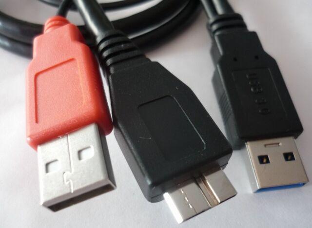 Usb 3.0 y Câble Micro B Fiche D'alimentation Câble de connexion données 82909 DELOCK HDD
