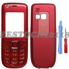 Red Fascia Full Housing Case Cover Keypad for Nokia 3120 Classic 3120C +Tools