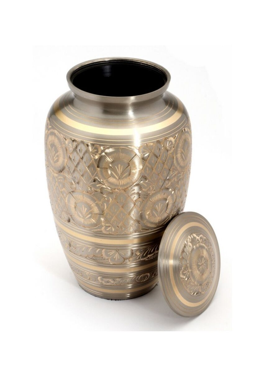 Gloucester étain crémation cendres adulte Urne - uu100002a