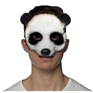 Adult Child Zoo Animal Kung Fu Panda Master Po Bear Halloween Costume Eye Mask