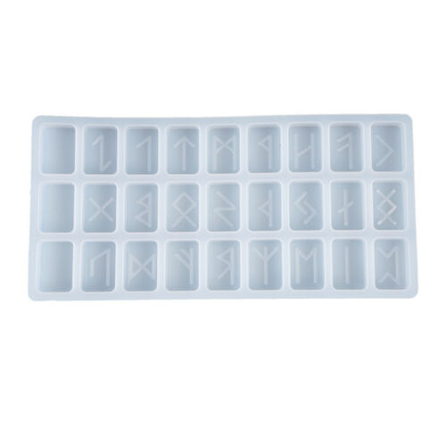 Symbol Rune Silicone Epoxy Resin Mold Biscuit Cutter Fondant Cake Decor Mould