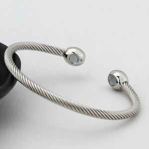 MAGNETIC BRACELET LADIES MENS BANGLE COPPER HEALING THERAPY ARTHRITIS PAIN CUFF 95509659699