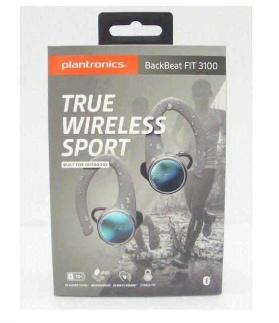 Plantronics Backbeat Fit 3100 Over The Ear Wireless Headphones Gray For Sale Online Ebay